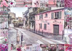 Romantic Journey Street Scene Jigsaw Puzzle
