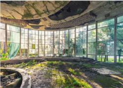 Old Café In Abkhazia Landscape Jigsaw Puzzle