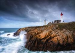 St. Mathieu Seascape / Coastal Living Jigsaw Puzzle