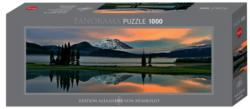 Sparks Lake Lakes / Rivers / Streams Panoramic Puzzle