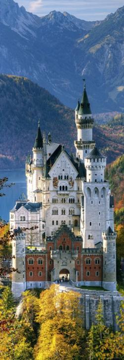 Neuschwanstein (Sights) Monuments / Landmarks Vertical Puzzle