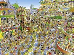 Carnival in Rio South America Jigsaw Puzzle