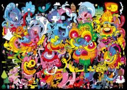 New Psychedoodlic Cartoons Jigsaw Puzzle
