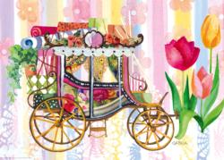 Carriage (Lovely Times) Nostalgic / Retro Jigsaw Puzzle