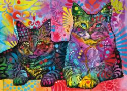 Devoted 2 Cats Cats Jigsaw Puzzle