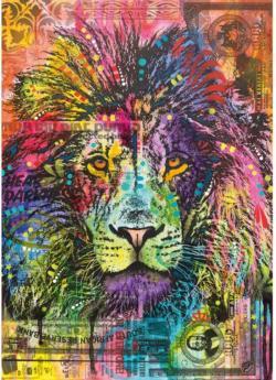 Lion's Heart Lions Jigsaw Puzzle
