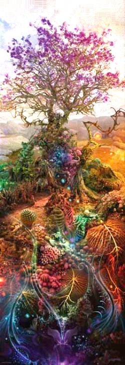 Magnesium Tree Flowers Panoramic Puzzle