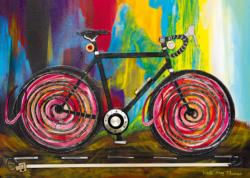 Momentum, Bike Art Bicycles Jigsaw Puzzle