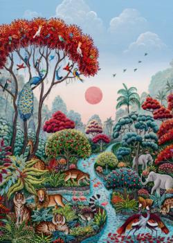Wildlife Paradise Nature Jigsaw Puzzle