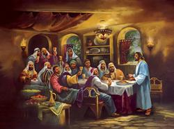 The Black Last Supper Religious Jigsaw Puzzle