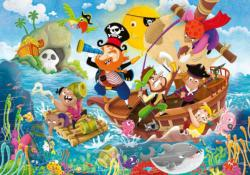 Land Ahoy! Pirates Children's Puzzles