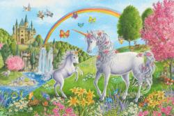 Prancing Unicorns Unicorns Children's Puzzles