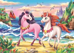 Beach Unicorns - Scratch and Dent Unicorns Children's Puzzles