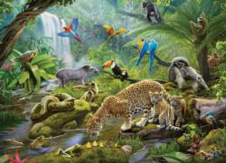 Rainforest Animals Jungle Animals Children's Puzzles