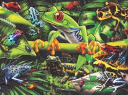 Amazing Amphibians Frog Jigsaw Puzzle