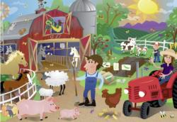 Farm Mania Cartoons Children's Puzzles