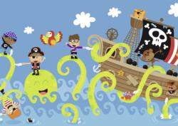 Ocean Friends Pirates Children's Puzzles