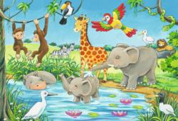 Waterhole Fun Jigsaw Puzzle