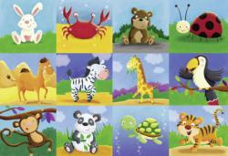 Animal Adventures Animals Floor Puzzle