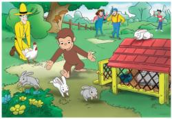 Curious George Fun Cartoons Children's Puzzles