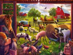 Animals of Bells Farm - Scratch and Dent Pig Children's Puzzles