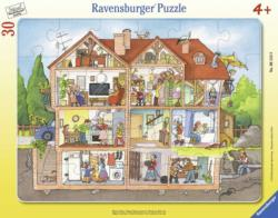 Inside the House Domestic Scene Children's Puzzles