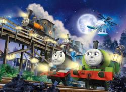 Thomas & Friends Glow-in-the-Dark Cartoons Children's Puzzles