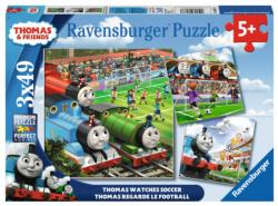 Thomas Watches Soccer Movies / Books / TV Multi-Pack
