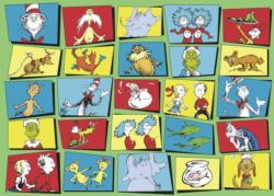 Dr. Seuss Characters Collage Children's Puzzles