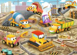 Raise the Roof! - Scratch and Dent Construction Children's Puzzles