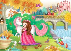 Afternoon Away Unicorns Children's Puzzles