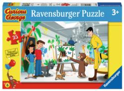 Look Curious George! Movies / Books / TV Children's Puzzles