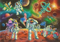 Moon Landing Science Children's Puzzles