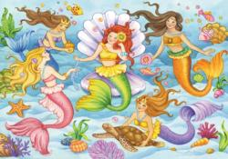 Queens of the Ocean Mermaids Children's Puzzles
