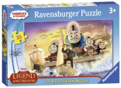 Sodor's Legend of the Lost Treasure Trains Children's Puzzles