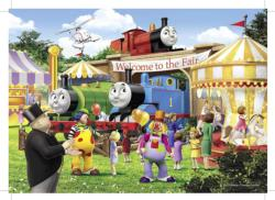 Fair Bound Trains Jigsaw Puzzle