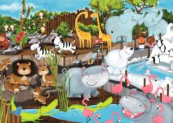 Day at the Zoo Zebras Jigsaw Puzzle
