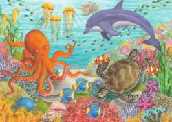 Ocean Friends Reptiles and Amphibians Jigsaw Puzzle