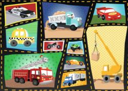 Tires & Engines Construction Children's Puzzles