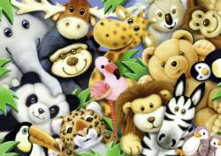 Softies Jungle Animals Children's Puzzles