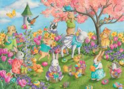Egg Hunt Easter Children's Puzzles
