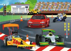 Day at the Races Cars Children's Puzzles