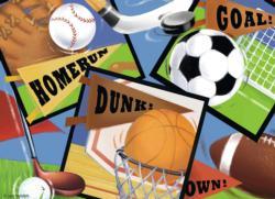 Sports! Sports! Sports! Children's Puzzles