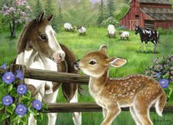 New Neighbors Farm Animals Children's Puzzles