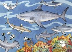 Sea of Sharks Marine Life Children's Puzzles