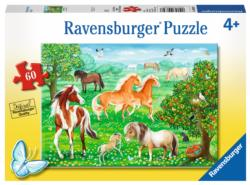 Mustang Meadow Horses Children's Puzzles