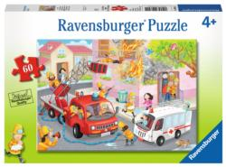 Firefighter Rescue! Vehicles Jigsaw Puzzle