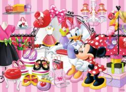 Minnie's Shopping Tour (Mickey & Minnie) Movies / Books / TV Large Piece