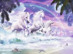 Unicorn Beach Unicorns Large Piece
