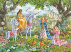 Princess Party Unicorns Children's Puzzles